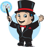 Cute magician Royalty Free Stock Photography