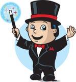 Cute magician royalty free illustration