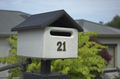 Cute mailbox Royalty Free Stock Image