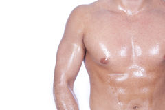 Cute male body Stock Photo