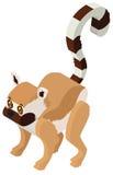 Cute meerkat in 3D design Royalty Free Stock Photography