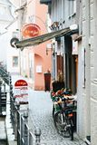 Cute Memmingen corner stock photos
