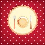 Cute menu card Royalty Free Stock Images