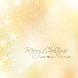 Cute Merry Christmas card Royalty Free Stock Photography