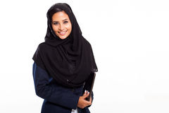 Middle eastern businesswoman Stock Images