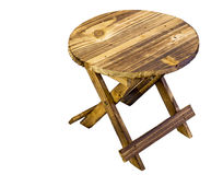 Cute miniature wooden table Stock Image