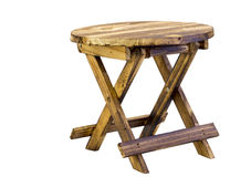 Cute miniature wooden table Stock Images