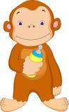 Cute monkey cartoon Royalty Free Stock Photography