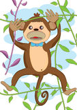 Cute Monkey_eps Royalty Free Stock Images