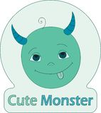 Cute Monster Stock Images