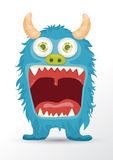 Cute monster cartoon Stock Image