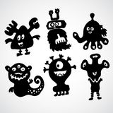 Cute monster doodle Stock Photography