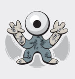 Cute Monster Royalty Free Stock Photography