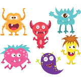 Cute Monster Mouth Stock Image