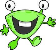 Cute Monster Vector. Super Cute Happy Monster Vector Illustration vector illustration