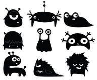 Cute monsters stock illustration