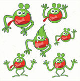 cute monsters cool Royalty Free Stock Image