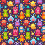 Cute monsters set Royalty Free Stock Images