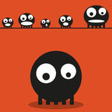 Cute monsters, vector Stock Photography
