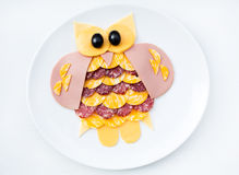 Cute morning breakfast Stock Images