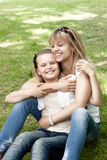 Cute mother and daughter Royalty Free Stock Image