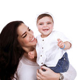 Cute mother with daughter Royalty Free Stock Photo