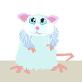 Cute mouse Stock Images