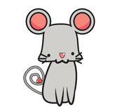 Cute Mouse Royalty Free Stock Photo