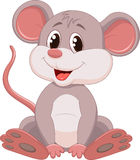 Cute mouse cartoon Stock Photography