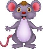 Cute mouse cartoon Royalty Free Stock Photos