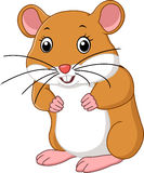 Cute mouse cartoon. Illustration of  Cute mouse cartoon Royalty Free Stock Photography