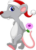 Cute mouse cartoon Royalty Free Stock Photo