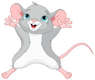 Cute Mouse. Illustration of very cute mouse Royalty Free Stock Image