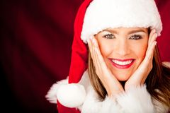 Cute Mrs Claus Stock Photos