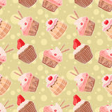Cute muffins Royalty Free Stock Image