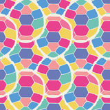 Cute multicolor seamless pattern of stylized turtles in cartoon style Stock Photos