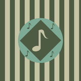 Cute musical background Royalty Free Stock Photography