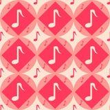Cute musical pattern Stock Photos