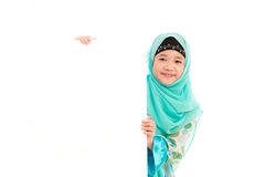 Cute muslim girl Stock Images