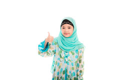Cute muslim girl Royalty Free Stock Photography