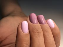 Cute nail color stock image