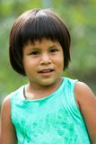 Cute native american girl. Stock Images