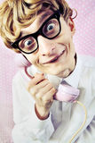 Cute nerd stock images