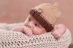 Cute new born boy Royalty Free Stock Image