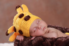 Cute new born boy Royalty Free Stock Photo