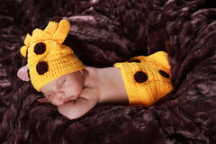 Cute new born boy Royalty Free Stock Photos