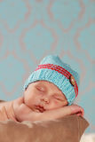 Cute new born boy Stock Photo
