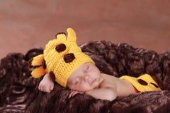Cute new born boy Stock Photography