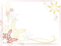 Cute new year card Stock Images