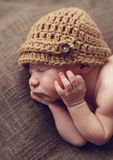Cute newborn baby boy Royalty Free Stock Photography
